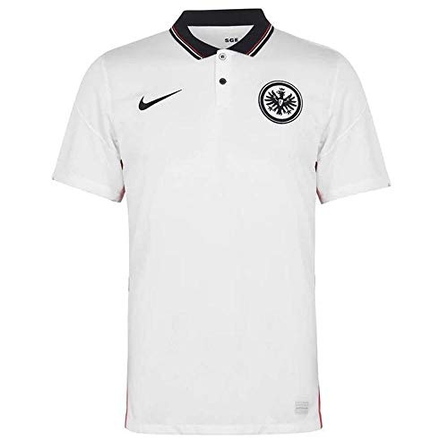 Nike Herren Eintracht Frankfurt BRT Stad Auswärts-Trikot, White/Black, XXL