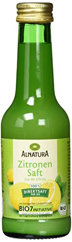 Alnatura Bio Zitronensaft, 6er Pack (6 x 200 ml)