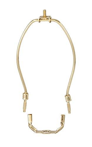 B&P Lamp 14' Harp, Brass Plated, Heavy Duty