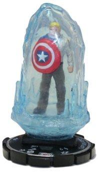 HeroClix: Captain America (Chase Figure) # 60 (Uncommon) - Captain America