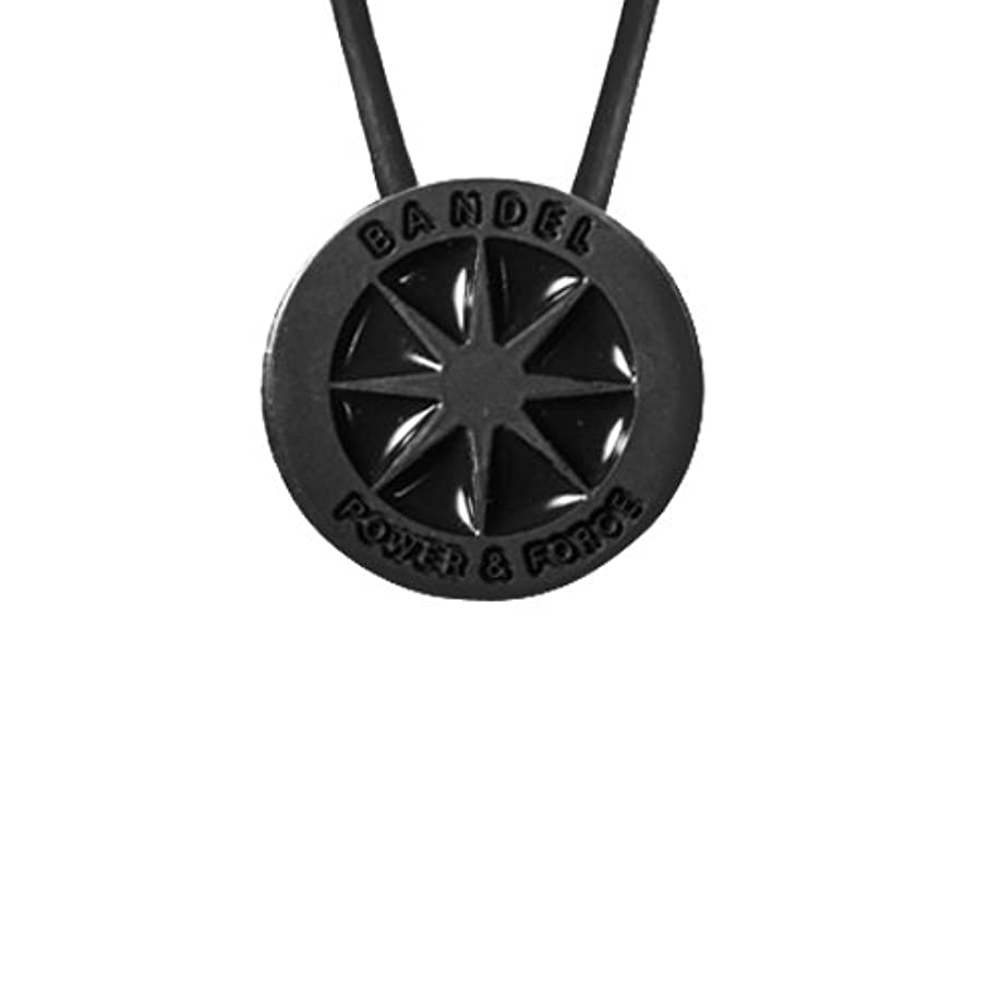 展示会失礼胃バンデル メタリック ネックレス[ブラック×ブラック]50cm(メンズ?レディース?ユニセックス)BANDEL