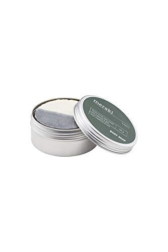 Meraki kolen & zout zeep voor heren, 150 ml