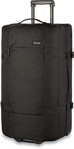 Dakine Split Roller EQ Travel Luggage, Trolley and Sports Bag with Wheels and Telescopic Handle, Black, 75 L