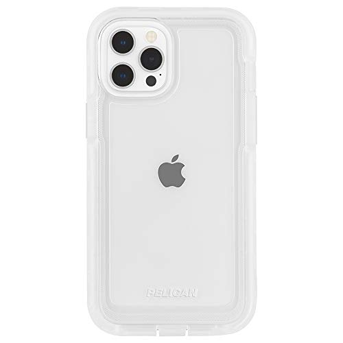 Pelican - Marine Active Series - Case for iPhone 12 and iPhone 12 Pro (5G) - 18 ft Drop Protection - Lanyard Strap - 6.1 Inch - Clear