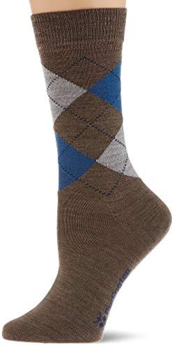 Burlington Damen Marylebone W SO Socken, Braun (Umber 5816), Einheitsgröße (DE 36-41)