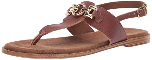 Bella Vita Women's Bella Vita Lin-Italy thong sandal Shoe, Whiskey Italian leather, 9.5 2W US