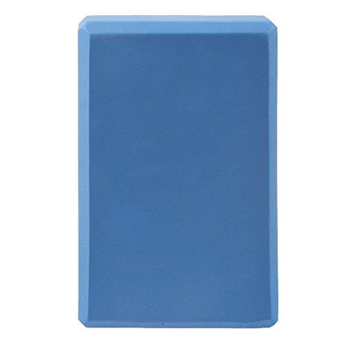 Kaxofang Bloque de Yoga Azul para Ejercicio Fitness Vida Saludable