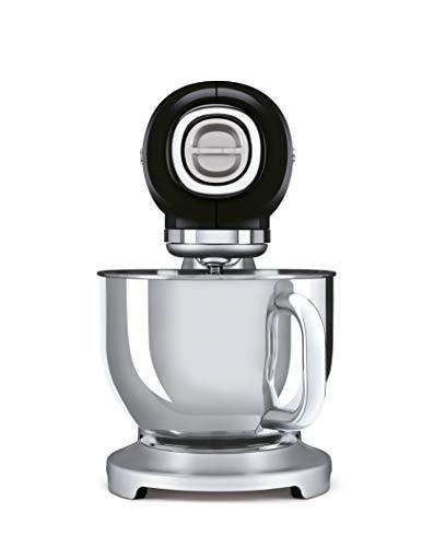 Smeg SMF02BLEU Robot Cuisine 4,8 L Noir Acier 18/10