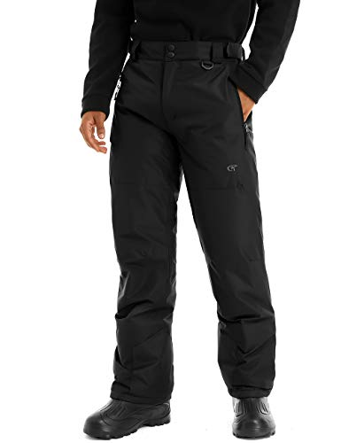 YuKaiChen Men's Snow Pants Ski Ripstop Bottoms Windproof Waterproof Insulated Winter Sports Trousers...