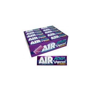Stick - Chewingum Vigorsol Air Action Ice Cassis - 40 Confezioni