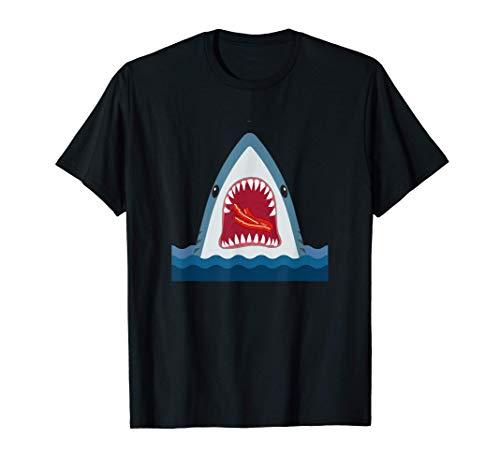 Diseño de tiburón Tiburón comiendo...