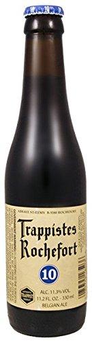 Trappist Rochefort 10 Bier (0,33l) 11,3% VOL. Flaschen inkl. Pfand MEHRWEG Beer Cerveza (12)