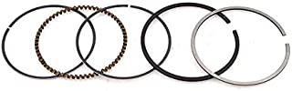 StoreDavid - Motorcycle Piston Ring Bore 69mm +100 Size 1.01.01.5 mm For Majesty YP250 Zongshen CB200 CB 200 200cc 250cc Engine Parts