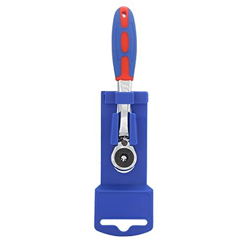 Llave de trinquete de 72 dientes, juego de trinquete de punta de destornillador, herramienta de llave de tubo portátil de 1/4 pulg.