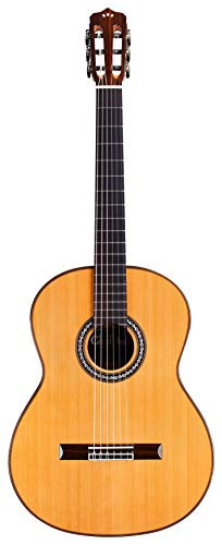 Cordoba C9 Crossover Klassische Akustikgitarre aus Nylon, Gitarrenbauer-Reihe, mit Polyschaumkoffer