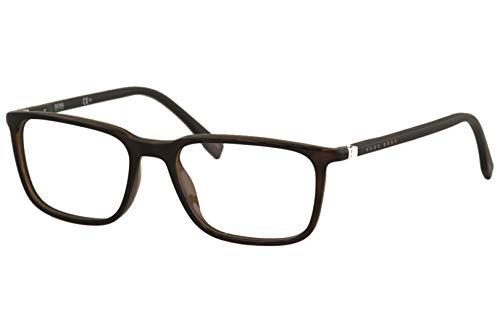 Hugo Boss Brille (BOSS-0962 086) Optyl havana dunkel - schwarz matt