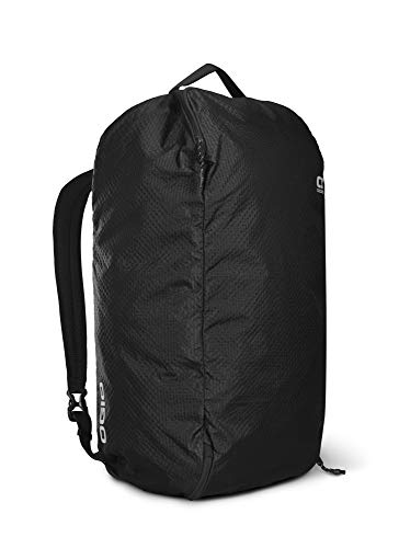 OGIO Fuse Lightweight Duffel Pack 50 in Black with Ripstop, Water-Resistant Cordura Fabric, Black, 60 cm - 50 Litre Capacity