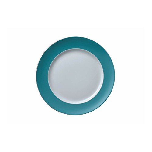 Rosenthal Thomas - Sunny Day Speiseteller - Grillteller - Teller - Turquoise - Türkis Ø 27 cm