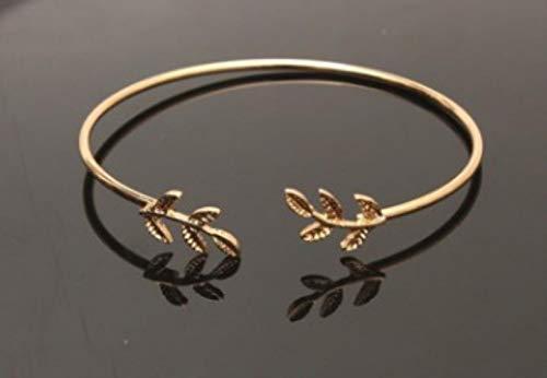 ASIG goud vergulde manchet armbanden voor vrouwen laat armbanden populaire open Bangle armbanden