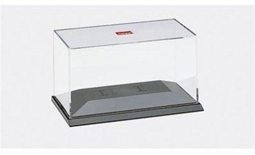 Herpa 055000 055000-PC-Vitrine inklusiv Halteklammern PKW 1:87, Miniatur zum Basteln, Sammeln und als Geschenk, Mehrfarbig
