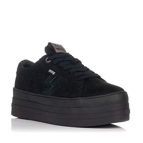 MTNG Attitude Damen 69707 Sneakers, Schwarz (Soft/Nice Negro C47684), 39 EU