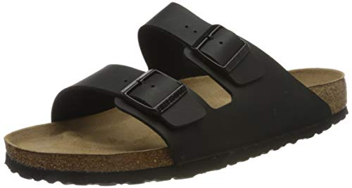 Birkenstock Unisex Arizona Black Sandals - 10-10.5 D(M) US Men