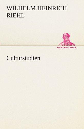 Culturstudien (TREDITION CLASSICS)