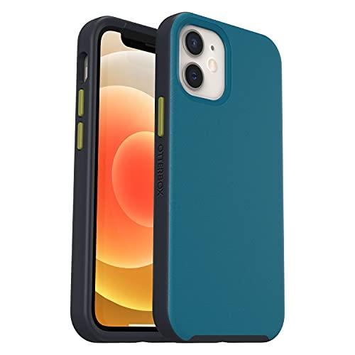 OtterBox für Apple iPhone 12 Mini, Slim Handyhülle mit MagSafe, Blue Heeler - Blau/Grau 77-80349