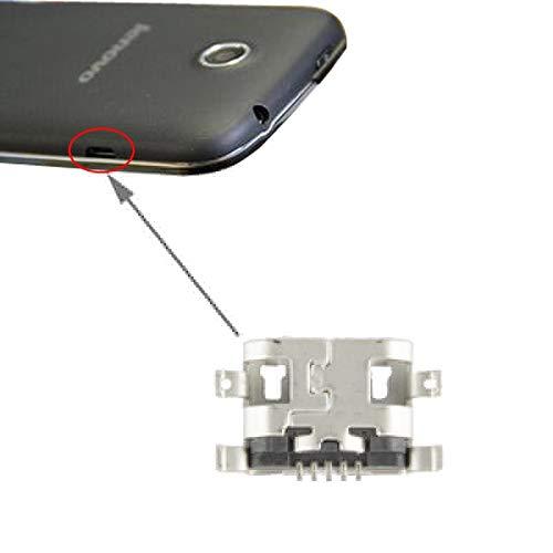 PANTEOHUAUS Cargador de Conector de Cola for Lenovo A680 A269 S920 A760 A630 A880 A390 A820 A890 A369 S930