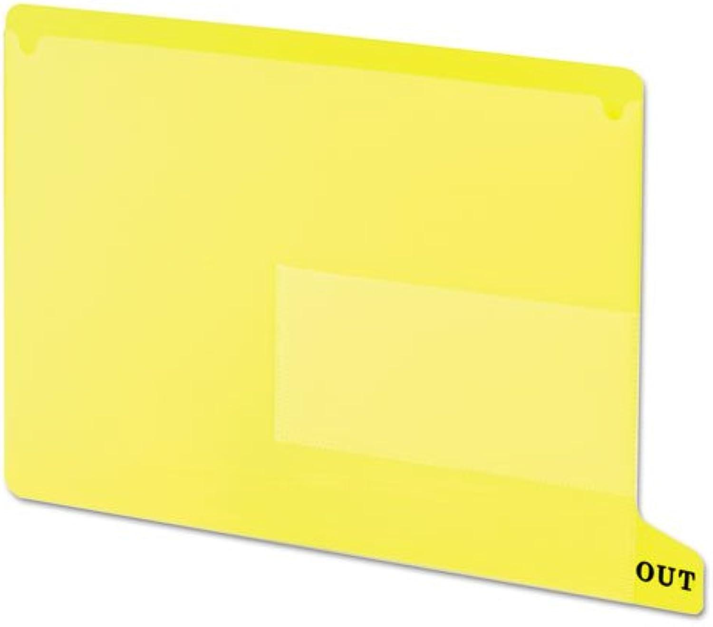 SMEAD Farbige Poly Out Guides mit Taschen, Poly, Letter, Gelb, 25 Box B015EXLUL0 | Sonderaktionen zum Jahresende