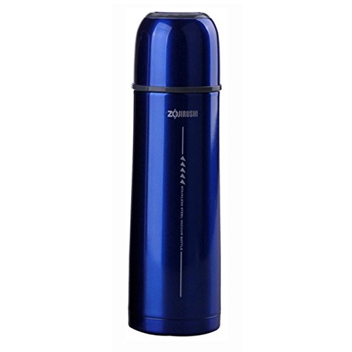Zojirushi SVGG50AH Tuff Slim Stainless Vacuum Bottle, 17-Ounce, Metallic Blue
