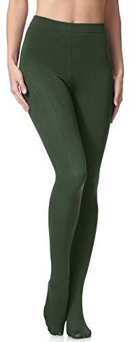 Merry Style Damen Thermo Strumpfhosen 24555 Extra Warm (Khaki, 40-42)