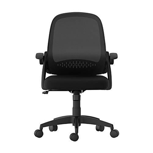 Qi Peng-//Chaise pivotante-Ordinateur Chaise Home Study Chaise Chaise de Bureau siège étudiant siège d'étude Chaise lève-Personne Chaise pivotante Chaise de Bureau Chaise pivotante (Couleur : B)
