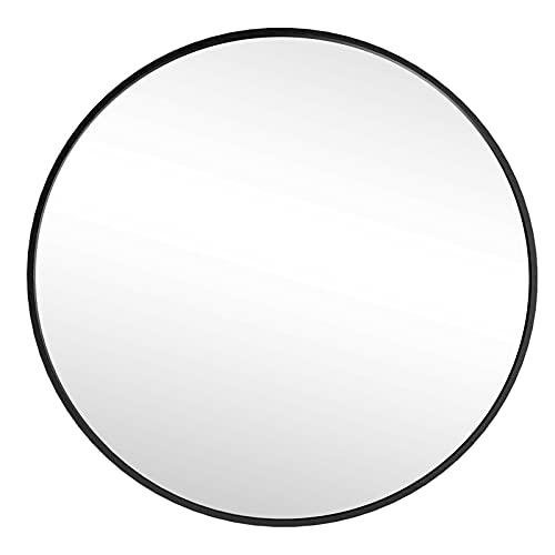 Wandspiegel Badezimmerspiegel Schminkspiegel Flurspiegel HD Spiegel Rund φ 60 cm