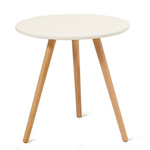 WJL bureau bijzettafel van massief hout kleine salontafel salontafel tafel inrichting rond eenvoudig voor woonkamer geschikt voor woonkamer slaapkamer 20IN Een