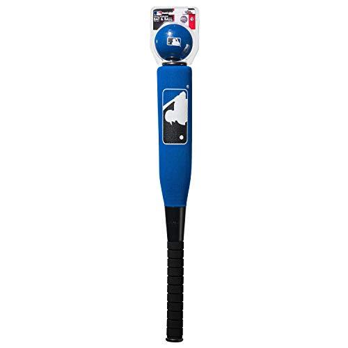 Franklin MLB XL Schaumstoff Baseballschläger und Ball, 6601S3C2, blau, 24 inch/10 oz