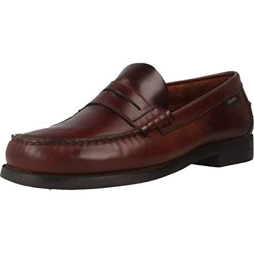 Callaghan, Zapatos de Cordones Derby para Hombre, Negro, 46 EU