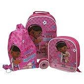 Doc McStuffins 4-Piece Kids' Luggage Set