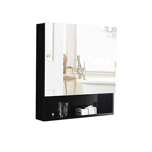 Badkamer kast/grote opbergkast badkamer medicijnkastje met spiegel opslag muur gemonteerde spiegel kabinet.