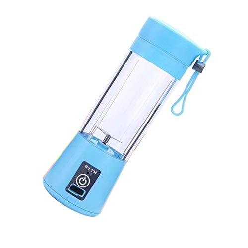 rongweiwang USB Mini Deux Lames Blender électrique Portable Fruit Juicer Maker Smoothie