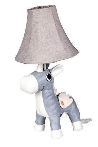 BUYI Einhorn Tischlampe Nachttischlampe Leselampe Cartoon Tier Stimmungslicht für Kinder Jungen Mädchen Einhorn Fans als Dekoration Weihnachtsgeschenk im Babyzimmer Kinderzimmer Schlafzimmer