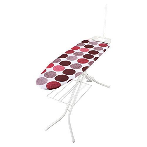 [ ロレッツ ] RORETS スタンド式 アイロン台 長さ120cm リブレット 高さ調節可 折りたたみ 9460 Libretto Ironing Board (White) Dots Red スリム 薄型 おしゃれ 北欧 [並行輸入品]