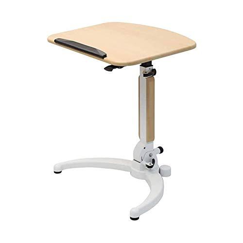 Wohnaccessoires Multifunktionaler Computertisch Stehklappbarer Laptopwagen Sitzständer Räder Mobiler Schreibtisch Mobiler Schreibtisch mit einstellbarer Höhe und laminiertem Computer-Klapptisch aus