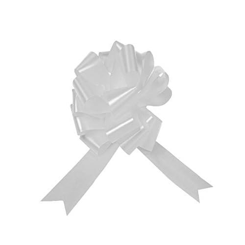 Noeud g/éant Automatique 37 cm d/éco Voiture Mariage ou Gros Cadeaux Haute qualit/é fabriqu/é en Europe Facile et r/éutilisable + 3,5 m/ètres de Corde de Ruban GiftDayz