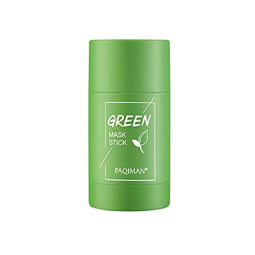 Green Tea Stick Mask Purifying Clay Face Moisturizer Oil Control Deep Cleansing & Nourishing for Women and Men for All Skin Types ourishing Skin for All Skin Types Men Women