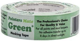 Painter'S Mate 55% OFF Masking Tape Direct store 1.41 60 Yard Green X