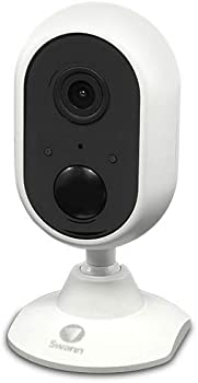 Swann Alert Wi-Fi 1080p Indoor Security Camera with Night Vision