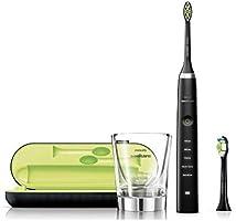 فيليبس سونيكير دايموند كلين سونيك فرشاة اسنان كهربائية - اسود, HX 9352/04