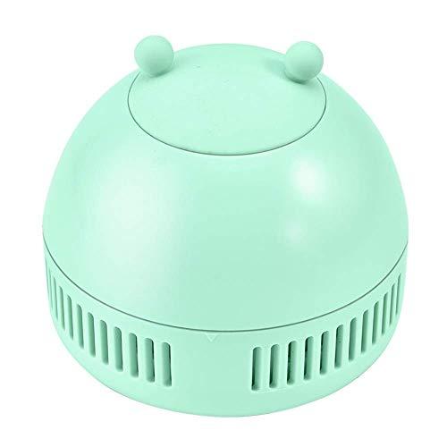 LTLJX Escritorio Polvo Aspirador del Ministerio del Interior de la Cocina de Esquina Migas Polvo Sweeper (Color: Blanco) LUDEQUAN (Color : Green)