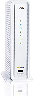 ARRlS Surfboard SBG6900AC Docsis 3.0 16x4 Cable Modem/Wi-Fi AC1900 Router White (Renewed)